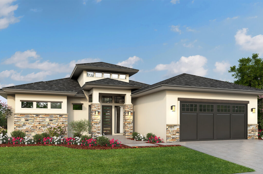 New Spec Homes - 3D Rendering - Palm Beach County - Strong Builders