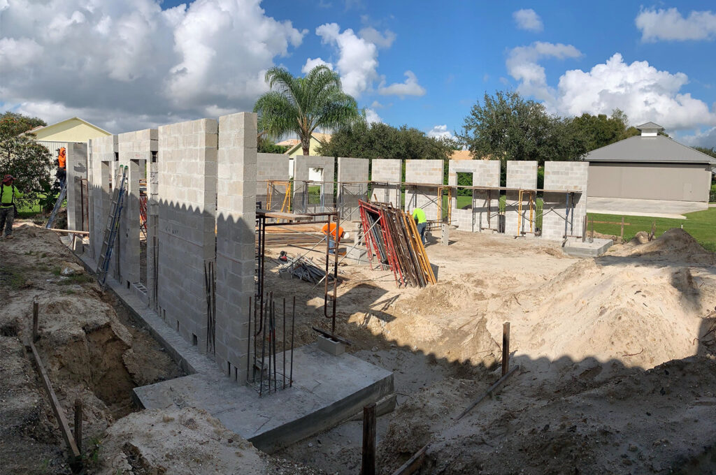 Concrete Foundations - Strong Builders - Loxahatchee, West Palm Beach, Palm Beach County